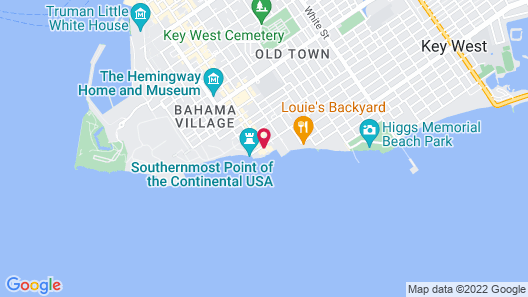 The Southernmost House Hotel Map