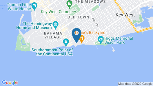 The Reach Key West, Curio Collection by Hilton Map
