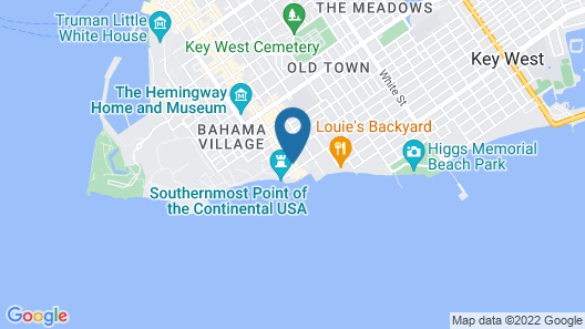Southernmost Beach Resort Map