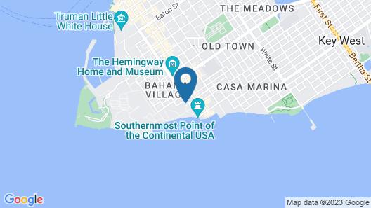Papa's Hideaway Map