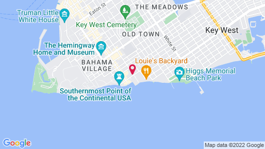 Southernmost Sanctuary Apartment Map