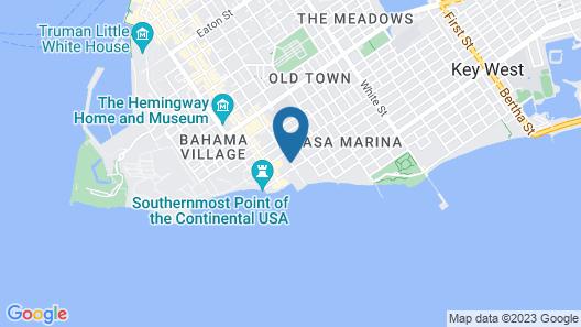Southwinds Motel Map
