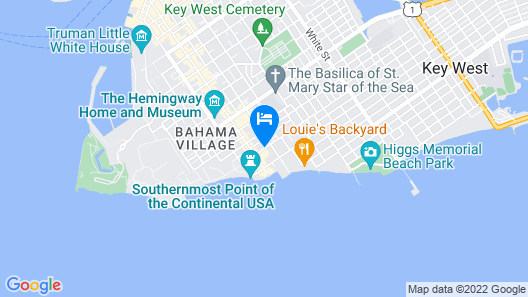 The Southernmost Inn-Adults Only Map
