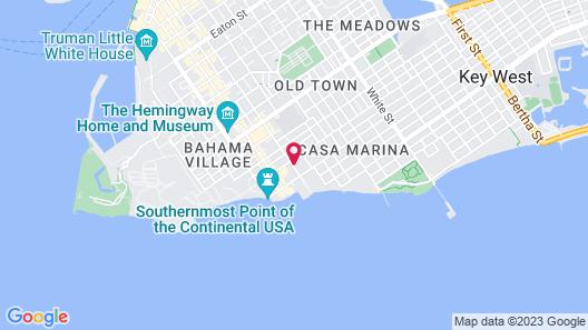 Best Western Hibiscus Motel Map