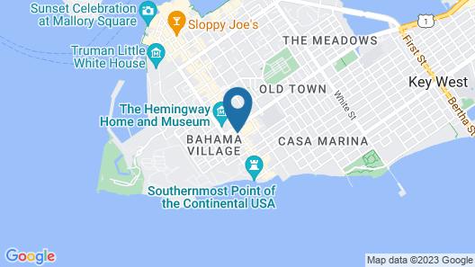 Duval Gardens Map