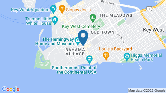 Orchid Key Inn Map