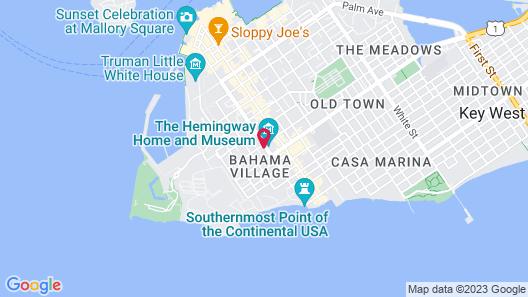 Kimpton Lighthouse Hotel Map