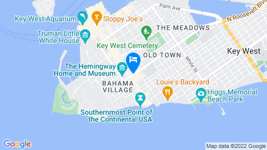 Almond Tree Inn Map