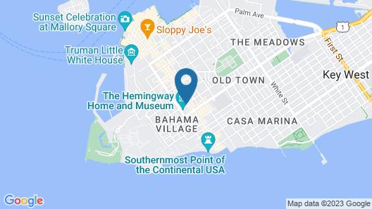 Seascape Tropical Inn Map