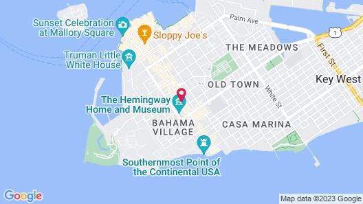 Tropical Inn Map