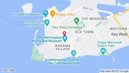 New Orleans House - Gay Men Adult Resort Map