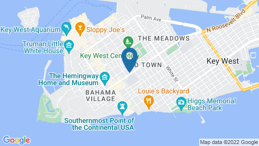 Kimpton Winslow's Bungalows, an IHG Hotel Map