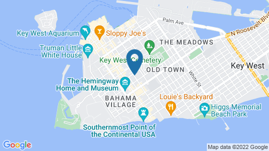 Kimpton Ella's Cottages, an IHG Hotel Map