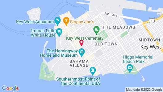 Key West Villas Map
