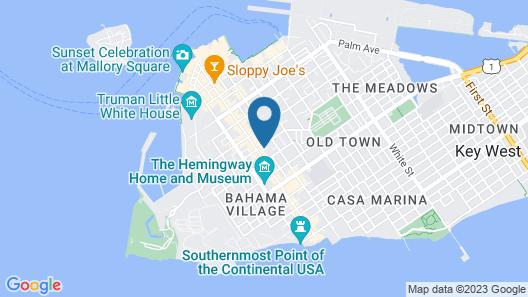Key West Villas Map
