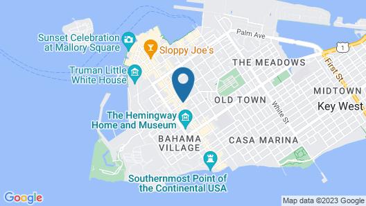 Duval Inn Map