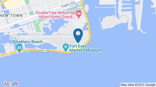 Hyatt Residence Club Key West, Windward Pointe Map