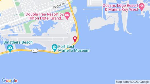 Hampton Inn Key West FL Map