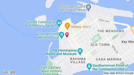 The Banyan Resort Map