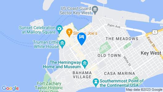 The Marquesa Hotel Map
