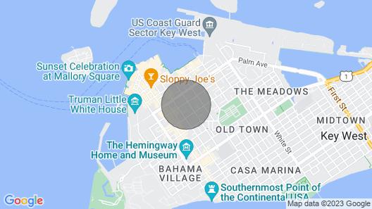 Ambrosia Key West Map