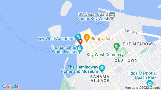 Opal Key Resort & Marina, Key West Map