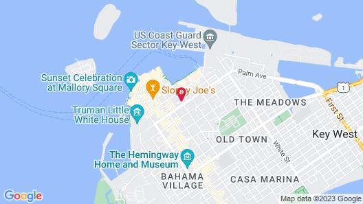 The Garden House Map