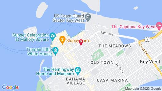 Island City House Hotel Map