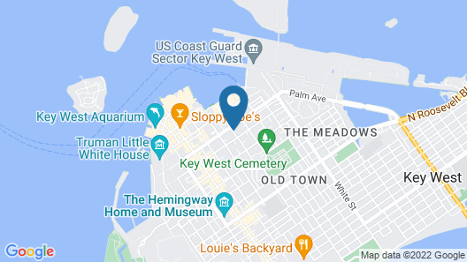 Island City House Hotel Map