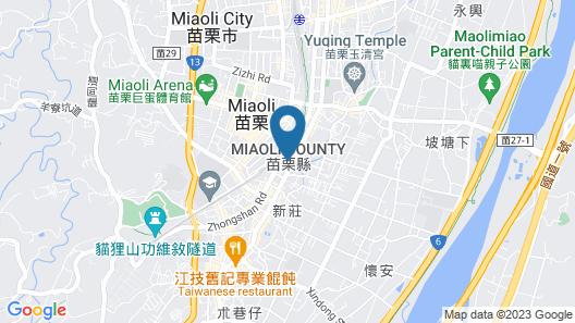 Green Yard Business Hotel Map