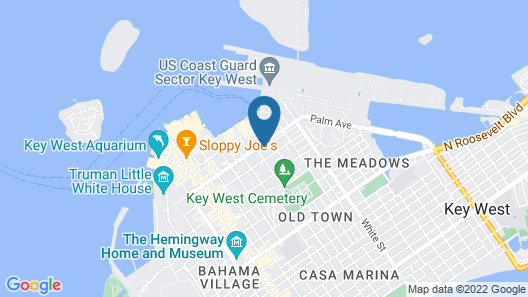 Westwinds Inn Map
