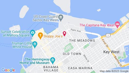 The Inn on Fleming Map