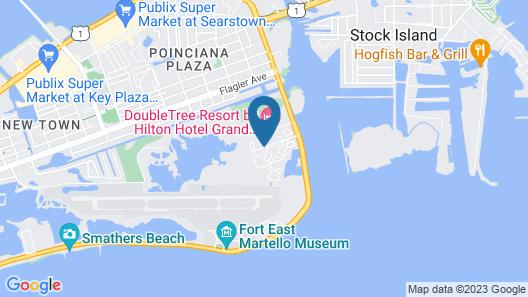 Sunrise Suites Resort Map