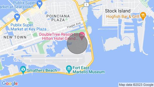 Quiet, Elegant, Key West Condo Close to the Ocean Map