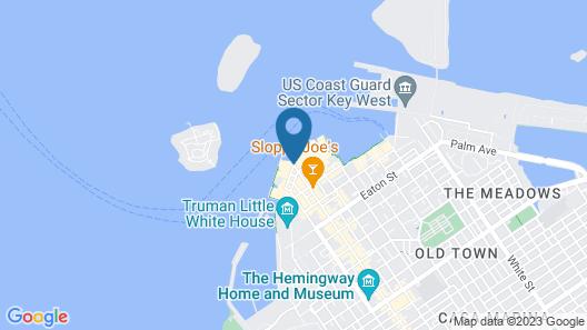 Pier House Resort & Spa Map