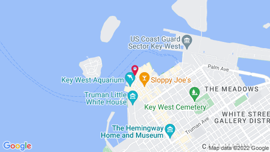 Ocean Key Resort - A Noble House Resort Map