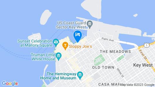 The Marker Key West Harbor Resort Map