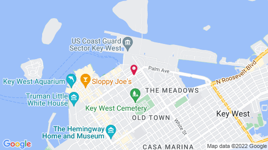 Kimpton Fitch Lodge, an IHG Hotel Map