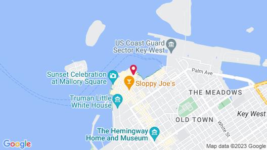 Hyatt Centric Key West Resort and Spa Map
