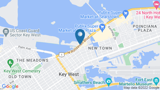 Fairfield Inn and Suites by Marriott Key West Map