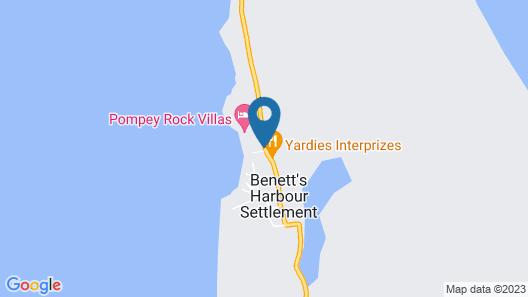 Sammy T's Beach Resort Map