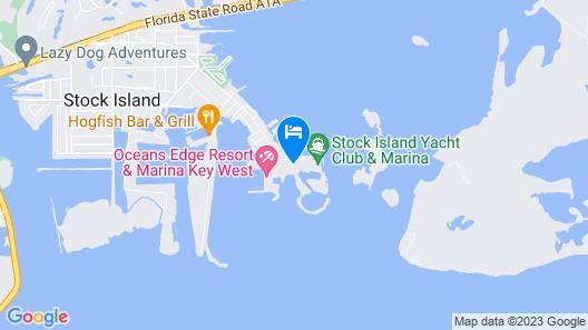 Oceanfront Oasis Summ Map