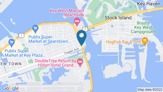 Coconut Mallory Resort And Marina By Kees Vacations Map