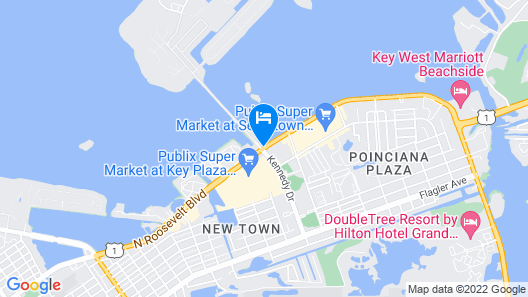 Ibis Bay Beach Resort Map