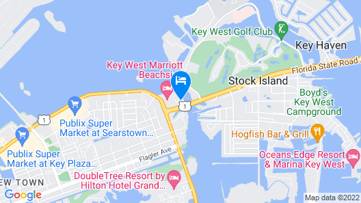 Hyatt Residence Club Key West, Beach House Map