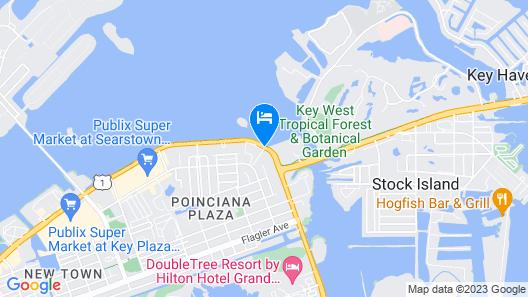 The Gates Hotel Key West Map