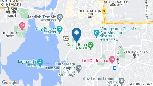 Hotel Janak Vilas Map
