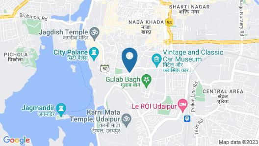 Hotel Shambhu Villas Map