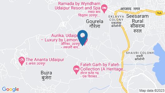 Aurika, Udaipur - Luxury by Lemon Tree Hotels Map