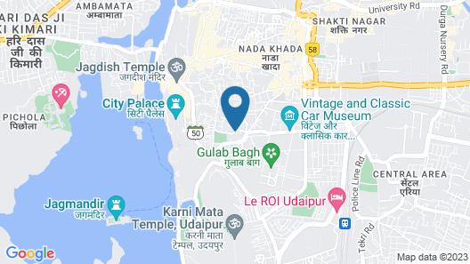 Hotel Boheda Palace Map